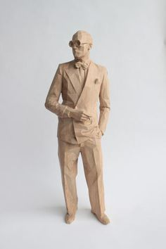 Wood Carving by Xavier Veilhan Xavier Veilhan, Ceramic Sculpture Figurative, Whittling Wood, Wood Carving Art, Wooden Art, Wood Sculpture, Woodworking Projects, Sculpting, Contemporary Art