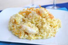 Ho assaggiato il risotto agli agrumi e gamberi il mese scorso ad un matrimonio, il gusto dell'arancia e del limone, unita a quella dei crostacei, mi è