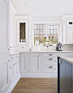 New White Washed Cabinet Doors