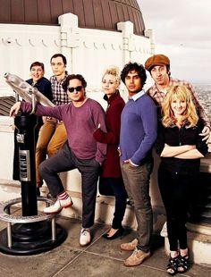 The Big Bang Theory.... pretty people!!!! (My favorites) all their photo shoots are adorable!
