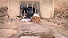 WORST SKATEBOARD FAILS (FACEPLANT INTO SEWER WATER) – Luis Mora: Source: luismoravids