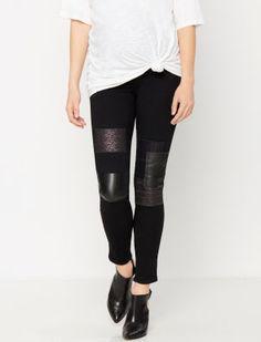 Paige Denim Secret Fit Belly Stitch Detail Skinny Leg Maternity Jeans