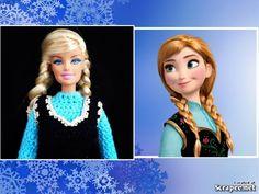 Croche /Vestido da Ana -Frozen 1/3 - LiiArt