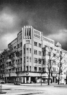 Kurfürstendamm 45, Ecke Bleibtreustraße, um 1940