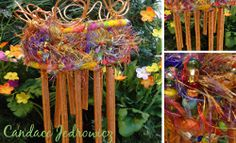 Copper Garden Chimes - a very neat how-to and easy to take and make your own.