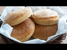 Almond buns for burgers and sandwiches - Paleo buns