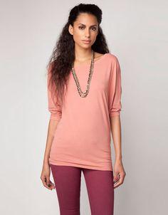 Bershka Holland - Shirt Bershka met details in kant