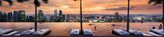 10 incredible hotel rooftops:  Bangkok, Singapore, New York, Rome, Barcelona, London, Hong Kong, Mumbai, Istanbul,  Guanajuato, Mexico;