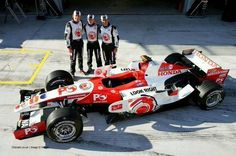 Jenson Button, Anthony Davidson & Rubens Barrichello, Honda 2006.