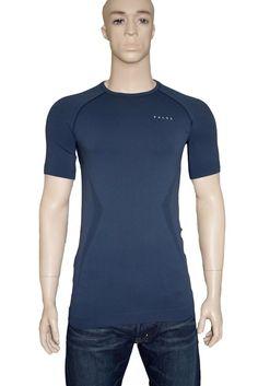 Falke Ergonomic Sports System Stretch T shirt Training Running Blue Large BNWT #Falke #BaseLayers