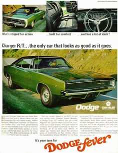 MOPAR: The ONLY muscle cars worth driving!    http://theselvedgeyard.files.wordpress.com/2009/07/brochure8.jpg Retro Cars, Vintage Cars, Vintage Auto, Sport Cars, 1968 Dodge Charger, Charger Rt, Dodge Chargers, Chinchillas, Plymouth Cars