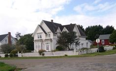 """Jessica Fletcher's House From TV's """"Murder She Wrote"""""""