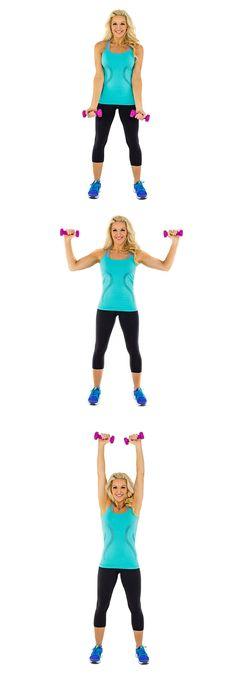 Work those biceps!