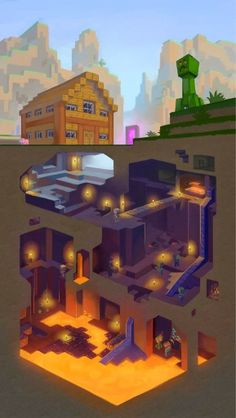 Kids could make a minecraft version of layers of earth atmosphere | http://pinterest-hot-pins.blogspot.com/