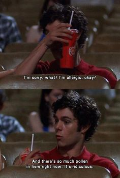 Because he's not afraid to show his sensitive side. | 37 Reasons Seth Cohen Is The Perfect Boyfriend