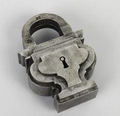 17th century German padlock