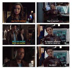Arrow - Caitlin, Barry, Lyla and Diggle #3.8 #Season3 <3