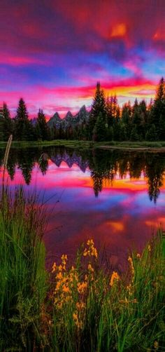 Fascinating Places: 15 Amazing Places to Visit in Wyoming Late spr. - Fascinating Places: 15 Amazing Places to Visit in Wyoming Late spring sunset by the i - Beautiful Sunset, Beautiful World, Beautiful Places, Amazing Places, Beautiful Scenery, Beautiful Nature Scenes, Beautiful Beautiful, All Nature, Pretty Pictures