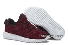 de3583dfabd Mens Womens Adidas Yeezy Boost 350 Shoes Wine Red Black TopDeals