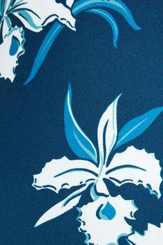 Mikoh - Hinano Floral-print Halterneck Swimsuit - Blue - x small