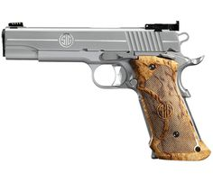 I have conflicted feelings about that gun. Birch I might. Sig 1911, Super Target, Crossbow Targets, Get Home Bag, Sig Sauer, Airsoft Guns, Guns And Ammo, Firearms, Shotgun