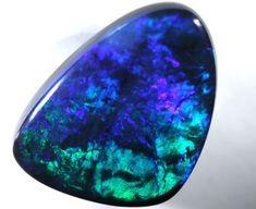 QUALITY BLACK SOLIDOPAL LIGHTNINGRIDGE  4.65 CTS INV-117 Black Opals, Australian Opals
