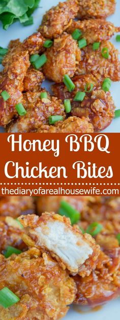 I LOVE this recipe. We eat a lot of chicken and I love … Honey BBQ Chicken Bites. I LOVE this recipe. We eat a lot of chicken and I love finding new ways to make it and my entire family loved this one. Easy Dinner Recipes, Appetizer Recipes, Easy Dinners, Chicken Appetizers, Party Appetizers, Party Snacks, Honey Chicken, Chicken Bacon, Breaded Chicken Recipes