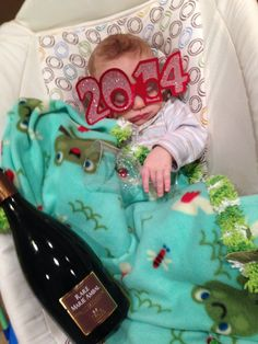 New Years baby picture