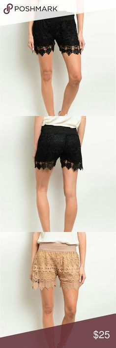 Crochet Shorts New crochet shorts brand new...See all items for sale we have the latest in fashion clothing, swimsuits, jewelry, sunglasses, makeup and more! Follow us to stay with the latest fashions daily!    #flawlessfashions04 Rima Imar Shorts