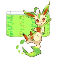 Leafeon and her special D.S                                                                                                                                                                                 Más