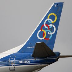Olympic Airlines Boeing 737-484 SX-BKA