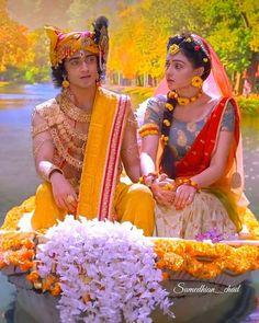 Radha Krishna Songs, Krishna Flute, Radha Krishna Love Quotes, Lord Krishna Images, Radha Krishna Pictures, Krishna Photos, Shree Krishna, Radhe Krishna, Baby Ganesha