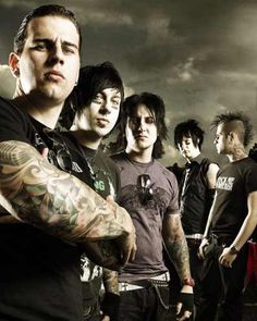 M. Shadows  Zacky Vengeance  Synyster Gates  The Rev  Johnny Christ  A7X