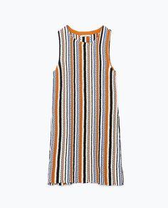 ZARA - NEW THIS WEEK - JACQUARD KNIT DRESS