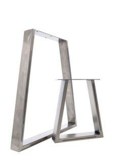 2-x-Steel-Table-Desk-Bench-Pedestal-Legs-The-Trapezium-Design