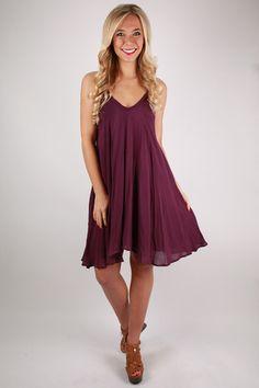 27bb8dbb3a8 Pretty Like Peonies Dress in Plum