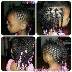 (little black girls braids cornrow) Childrens Hairstyles, Girls Natural Hairstyles, Natural Hairstyles For Kids, Baby Girl Hairstyles, Kids Braided Hairstyles, Fancy Hairstyles, Natural Hair Styles, Kids Hairstyle, Little Black Girls Braids