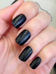 Matte black with stamping