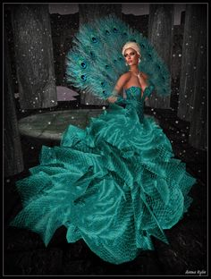 Bliss Couture - Elissana - Teal 1