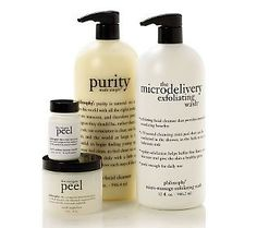 philosophy skin care- a good over the counter line.