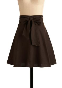 Domestic Deadline: What I Made to Wear Wednesday: High Waisted Skirt