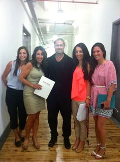 Auster Agency ladies with Brad Pitt!