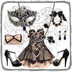 baile de mascaras - Pesquisa Google Masquerade Outfit, Masquerade Dresses, Masquerade Costumes, Masquerade Party, Black Prom Dresses, Homecoming Dresses, Dance Outfits, Cute Outfits, Beautiful Dresses