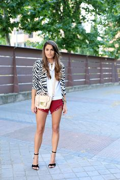 Love the textured Shorts
