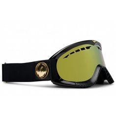 Dragon DXS Goggles Jet Gold/Gold Ionized Lens 2012 - Women's
