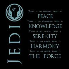 The jedi motto