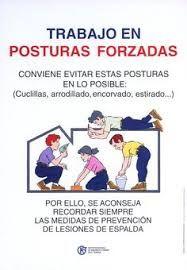 Resultado de imagen de proteccion de la espalda en el trabajo