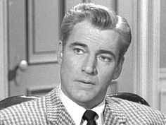 """William Hopper (né DeWolf Hopper, Jr.) (1915—1970) Frogman USN 1942-45 WW II. Son of Broadway actor DeWolf Hopper & gossip columnist Hedda Hopper. Enlisted in the Navy and volunteered for frogman duty. Served in the Pacific Theater and won Bronze Star for bravery. It's said the stress he endured during the war caused his hair to turn white. Best remembered for role as investigator Paul Drake in Perry Mason series, and Judy's dad in """"Rebel Without A Cause"""" (1955)."""