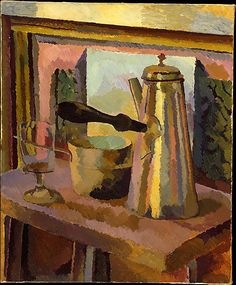 """The Coffee Pot,"" Duncan Grant (Scottish, 1885-1978), Oil on canvas, 24 x 20 in., ca. 1916"
