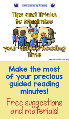 Guided reading time is precious! Don't you agree? I've devised several techniques and materials to help make the most out of this valuable small group time. Check out my blog post!